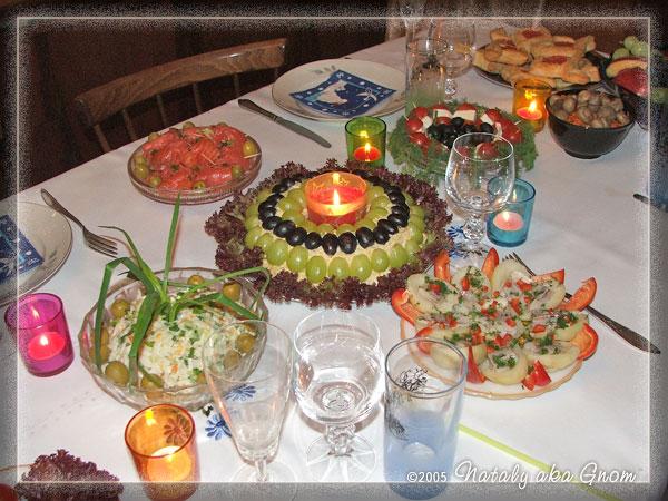 Рецепты салатов на стол к дню рождения с фото
